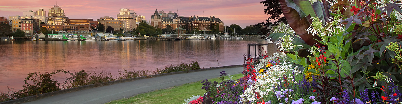 victoria-inner-harbour-at-sunset